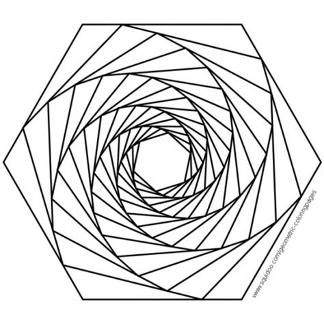 3d Coloring Pages Printable Free Coloring Pages 3d Geometric Designs Colouring Pages