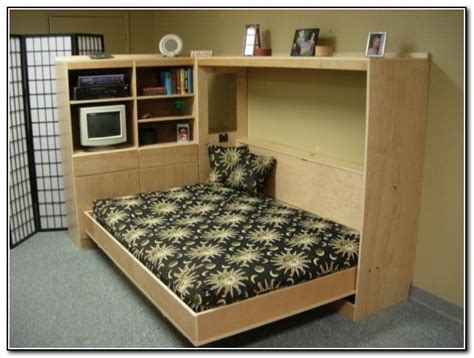 Build Your Own Queen Sized Horizontal Murphy Bed (diy Plan