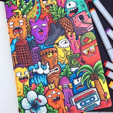 doodles  dayysss finished illustration