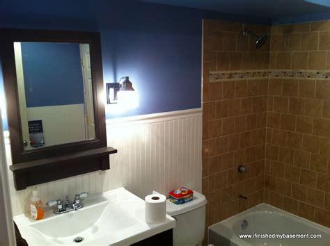Basement Bathroom  One Mans Quest To Finish His Basement