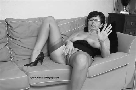 archive of Old Women mature In Glasses And stockings