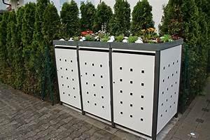 Unterstand Für Mülltonnen : box f r m lltonnen ra47 hitoiro ~ Lizthompson.info Haus und Dekorationen