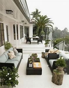 Pflanzen Sichtschutz Terrasse : erstaunliche moderne terrassengestaltung in 120 fotos ~ Sanjose-hotels-ca.com Haus und Dekorationen