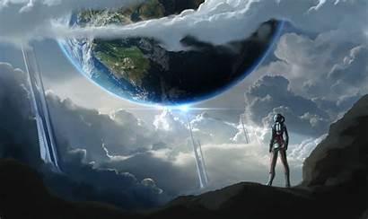 Sci Fi Planet Future Fiction Land Landscape