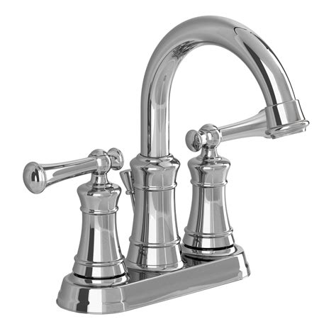 faucet for sink in bathroom shop american standard emory chrome 2 handle 4 in