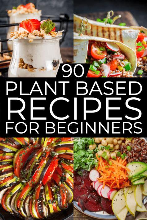 plant based diet meal plan  beginners  plant based