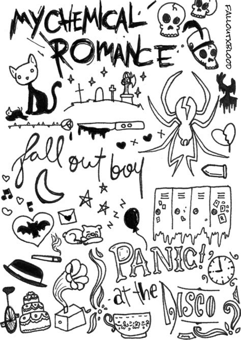 Fall Out Boy Desktop Background Band Member Collage Tumblr