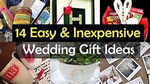 14 awesome wedding gift ideas youtube With cute wedding gift ideas