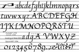 Sample Calligraphy Styles - dummies