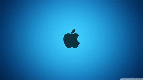 Wallpapers Pc HD: Apple Blue Logo Wallpaper HD