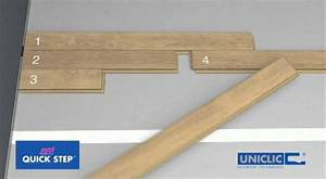 Quick-step Uniclic Installation Instructions