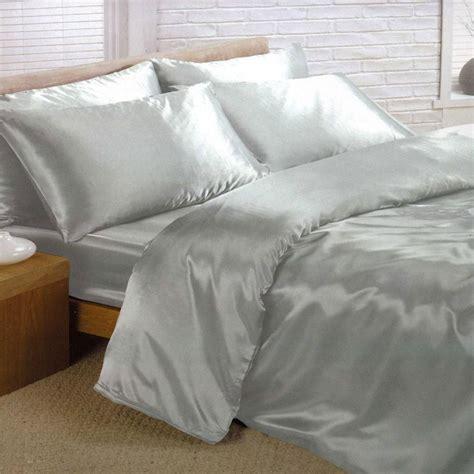 satin bedding sets 6 piece set duvet cover fitted