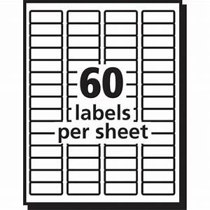 avery easy peel white return address labels for laser With avery label templates 5195