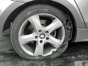 Ab Beware The Runflat Tyre And The Emergency Spare