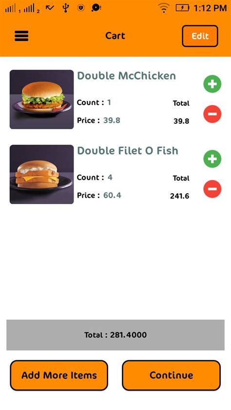 application cuisine android food order app source code and php backend food app