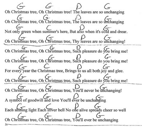 christmas tree lyrics and guitar chords 17 best images about chord charts on actually silent guitar