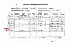dea controlled substances log With controlled drug register template