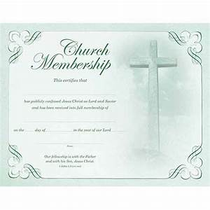 certificate church membership pkg 6 www With new member certificate template