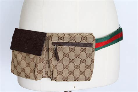gucci bag waist fanny bum monogram signature green red