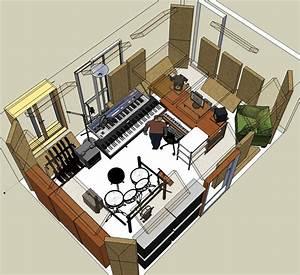 image With home recording studio design plans