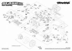 Traxxas 580764t4 Slash Vxl 1  10 Rtr 2wd Short Course Truck