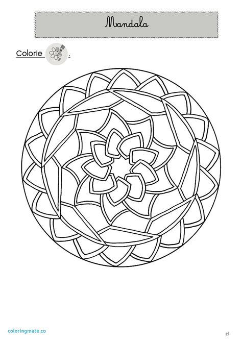 Coloriage Mandala Cp Artemiaorg