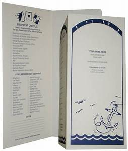 crown advertising document holders With boat document holder