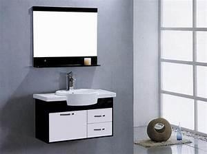 Meuble Sdb Pas Cher : meuble salle de bain moderne pas cher ~ Teatrodelosmanantiales.com Idées de Décoration