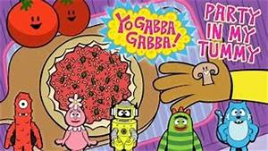 yo gabba gabba party in my tummy baby and Kids game video ...