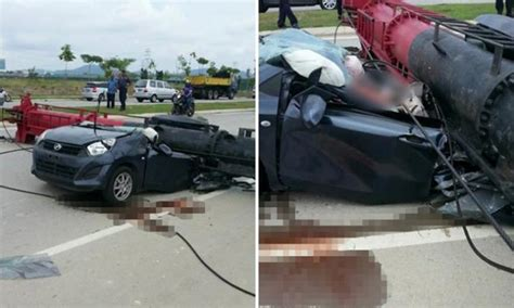 Couple Killed After Falling Piledriver Crushes Car In