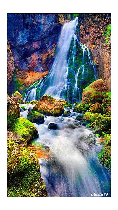 Waterfalls Plus Nature Locations Places Remote Waterfall