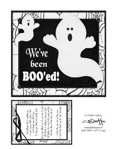 We've Been Boo Sign Printable