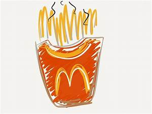 #mcdonalds #fries #drawing #sketch #doodle #53 #paper # ...
