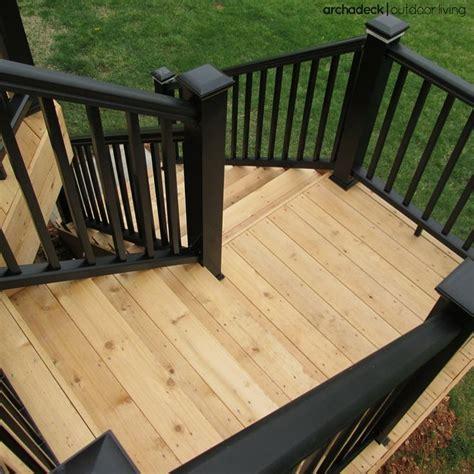 deck stairs ideas  pinterest outdoor deck