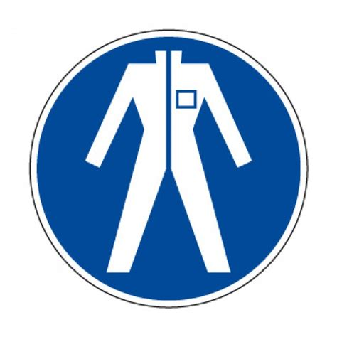 sticker bureau ob6 picto pvc protection du corps pictogramme sécurité