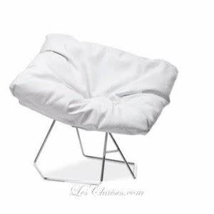 Fauteuil Cuir Blanc : fauteuil cuir blanc mask et fauteuille bas en cuir par ~ Melissatoandfro.com Idées de Décoration