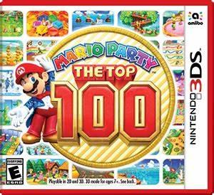 Mario Party The Top 100 For Nintendo 3DS Nintendo Game