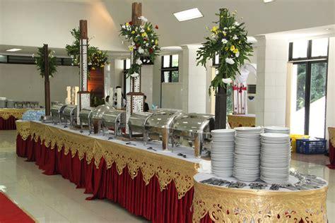 mandiri catering service dekorasi pelaminan meja prasmanan