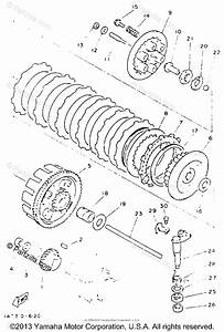 Yamaha Atv 1993 Oem Parts Diagram For Clutch