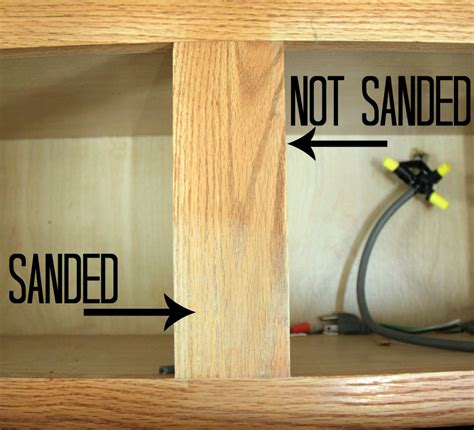 how to sand cabinets how to paint cabinets