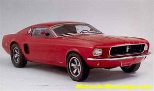 1968 Mustang Mach 1 Prototype
