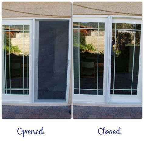 sliding glass door screens retractable screens sliding