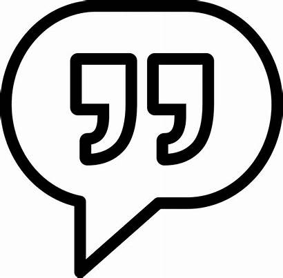 Answer Icon Comment Reply Message Thin Svg