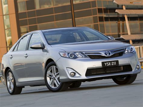 Toyota Camry Hybrid Hd Picture by Toyota Camry Hybrid Au Spec 2011 Pictures 1280x960