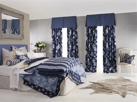 livingroom valances master bedroom decors with blue accent modern drapes for windows also blue blinds as