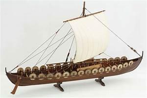 Viking ship model Skuldelev 5 of A.D. 1040