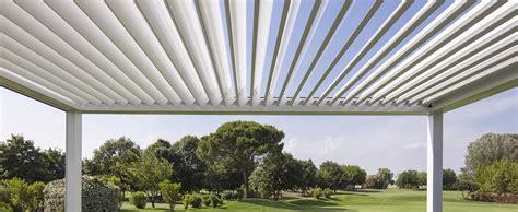 pergole in alluminio per terrazzi frangisole per terrazzi