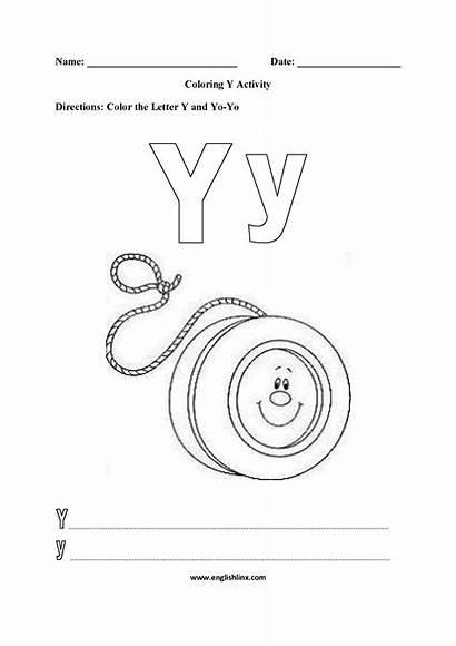 Coloring Worksheets Pages Alphabet Worksheet Letter Englishlinx