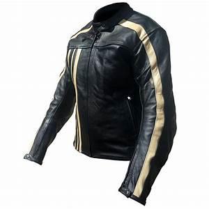 Blouson Moto Vintage Femme : equipement du pilote blouson moto cuir femme rider tec vintage noir beige taille l ~ Melissatoandfro.com Idées de Décoration