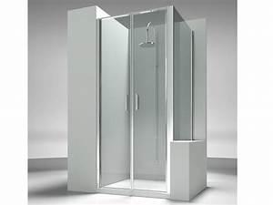 Paroi Douche Sur Mesure Pas Cher : paroi de douche sur mesure en verre tremp linea lb lp by ~ Edinachiropracticcenter.com Idées de Décoration